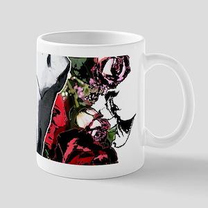 Buffalo skull and roses Mug