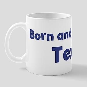 Raised in Texas Mug