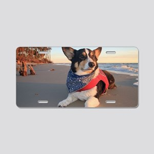 Lifeguard on Duty Aluminum License Plate
