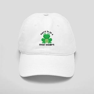 Hoppy to be a Great Grandpa Cap
