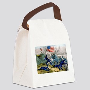 Capture of Roanoke Island - 1862 Canvas Lunch Bag
