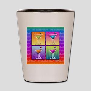 MARTINIS POP ART Shot Glass