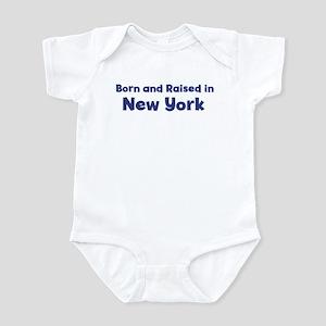 Raised in New York Infant Bodysuit
