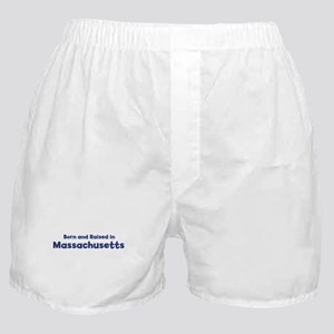 Raised in Massachusetts Boxer Shorts