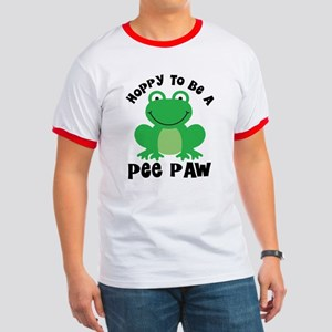 Hoppy to be a Pee Paw Ringer T