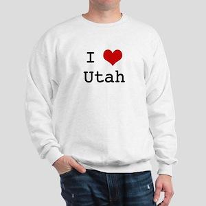 I Love Utah Sweatshirt