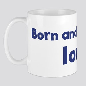 Raised in Iowa Mug