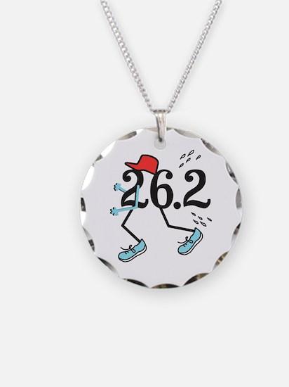 Funny Marathoner 26.2 Necklace