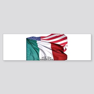 italianamerican Bumper Sticker
