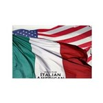 italianamerican Rectangle Magnet (100 pack)
