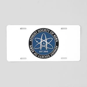Atheist Society Of Kern Aluminum License Plate