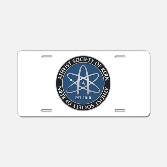 Atheist Society Of Kern Aluminum License Plate