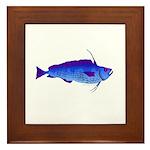 Violet Cod t Framed Tile