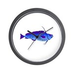 Violet Cod t Wall Clock