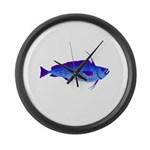 Violet Cod t Large Wall Clock