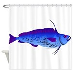 Violet Cod t Shower Curtain