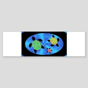 newhonuoval Bumper Sticker