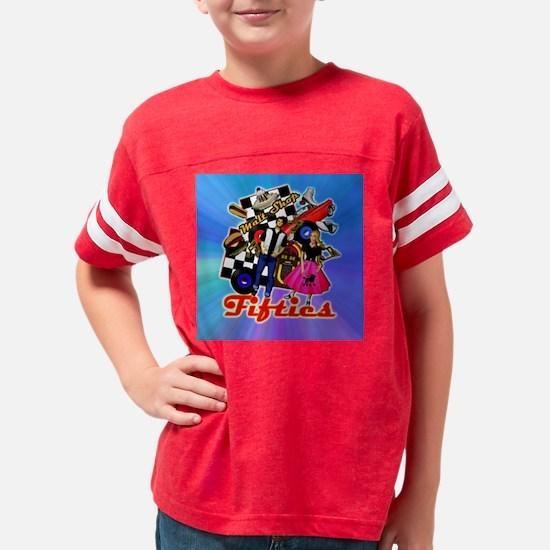 FABULOUS-FIFTIES-BLUE-shower_ Youth Football Shirt