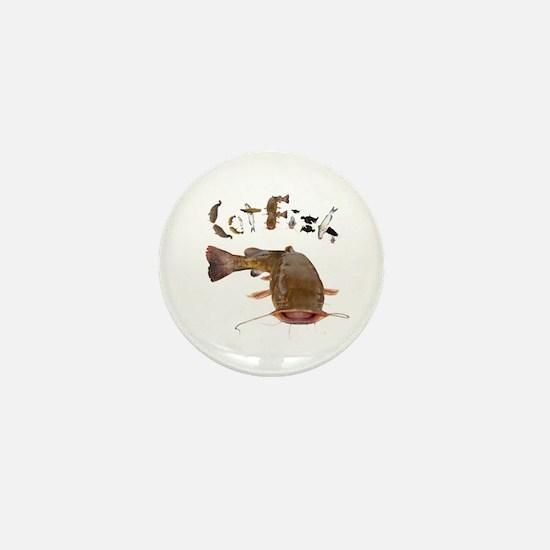 Catfish Mini Button