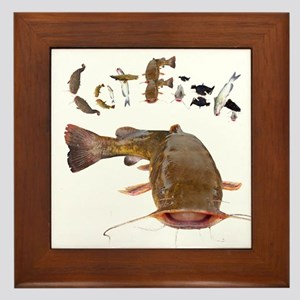Flathead Catfish Wall Art Cafepress