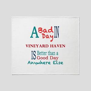 Vineyard Haven Throw Blanket