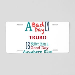 Truro Aluminum License Plate