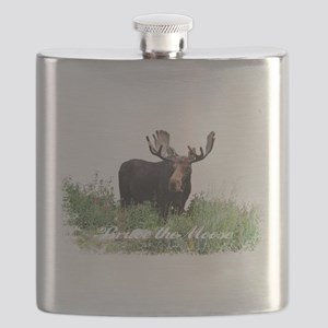 Bruce the Moose Flask