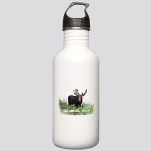 Bruce the Moose Stainless Water Bottle 1.0L