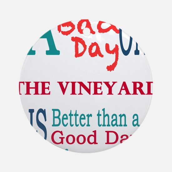 The Vineyard Ornament (Round)