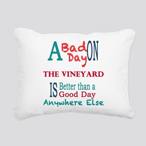 The Vineyard Rectangular Canvas Pillow