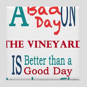 The Vineyard Tile Coaster