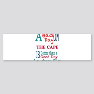The Cape Bumper Sticker