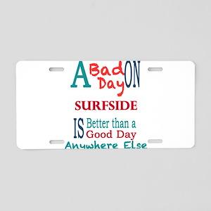 Surfside Aluminum License Plate
