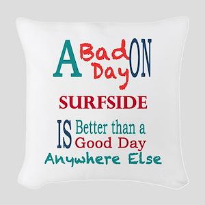 Surfside Woven Throw Pillow