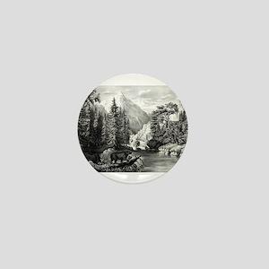 The mountain pass, Sierra Nevada - 1867 Mini Butto