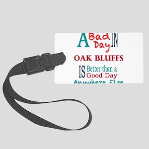 Oak Bluffs Luggage Tag