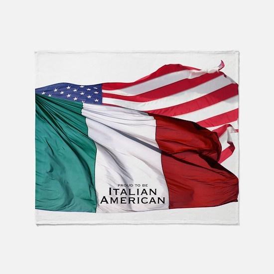Italian American Throw Blanket
