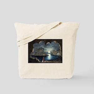 The magic lake - 1856 Tote Bag