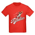 Fly Balls Kids Dark T-Shirt
