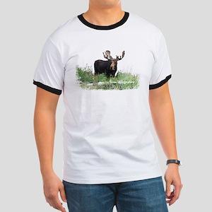 New Hampshire Moose Ringer T