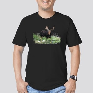 New Hampshire Moose Men's Fitted T-Shirt (dark)