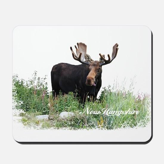 New Hampshire Moose Mousepad