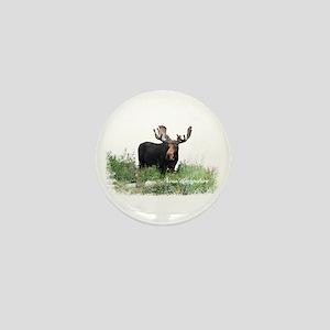 New Hampshire Moose Mini Button