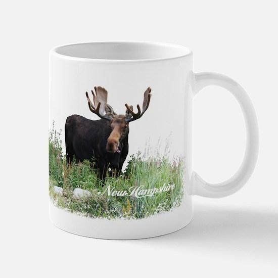 New Hampshire Moose Mug