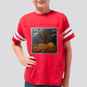 2-Happy Halloween 2 Youth Football Shirt