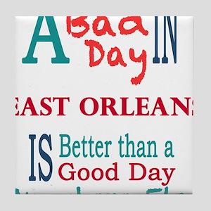 East Orleans Tile Coaster