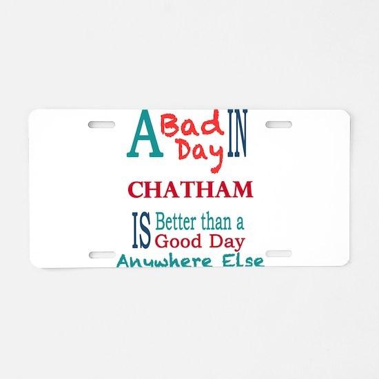 Chatham Aluminum License Plate