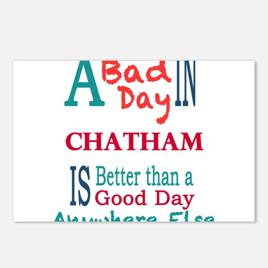 Chatham Postcards (Package of 8)