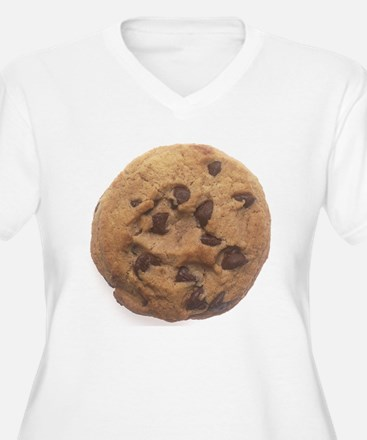 Chocolate Chip Cookie Plus Size T-Shirt