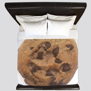 Chocolate Chip Cookie King Duvet